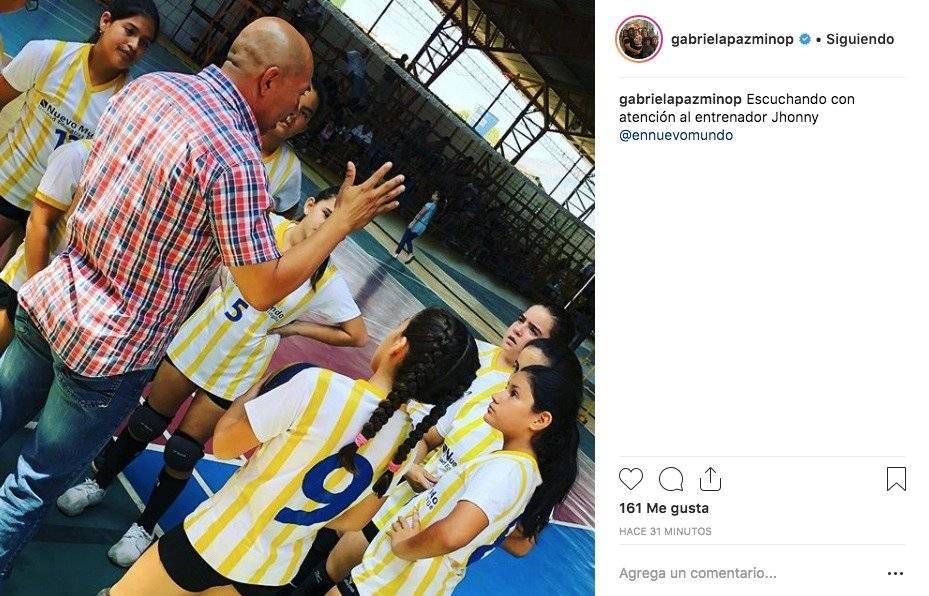Instagram: Gabriela Pazmiño