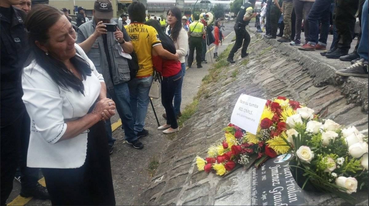 Incidentes durante acto en memoria de Froilán Jiménez por ocho años del 30-S Twitter