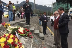 Incidentes durante acto en memoria de Froilán Jiménez por ocho años del 30-S