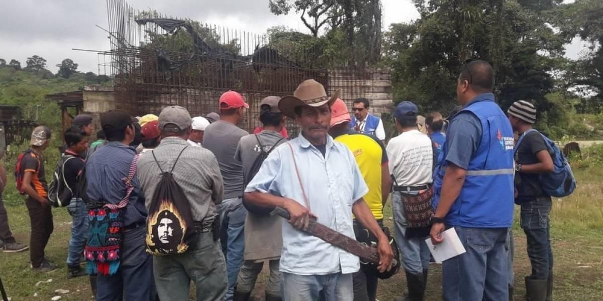 Continúan problemas en Ixquisis, Huehuetenango