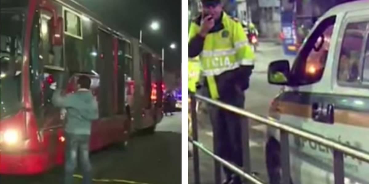 Hombre muere tras intentar colarse en estación de TransMilenio
