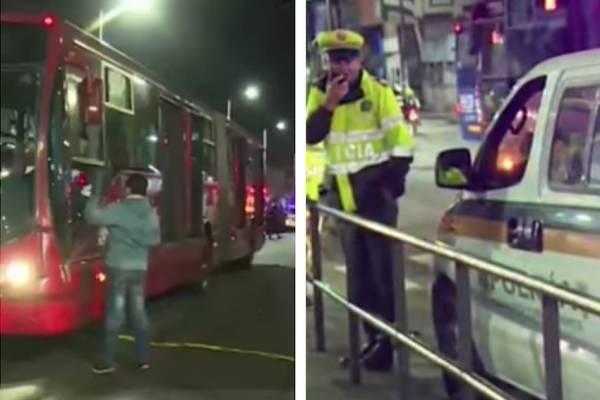 Hombre muere tras intentar colarse en estación de TransMileni