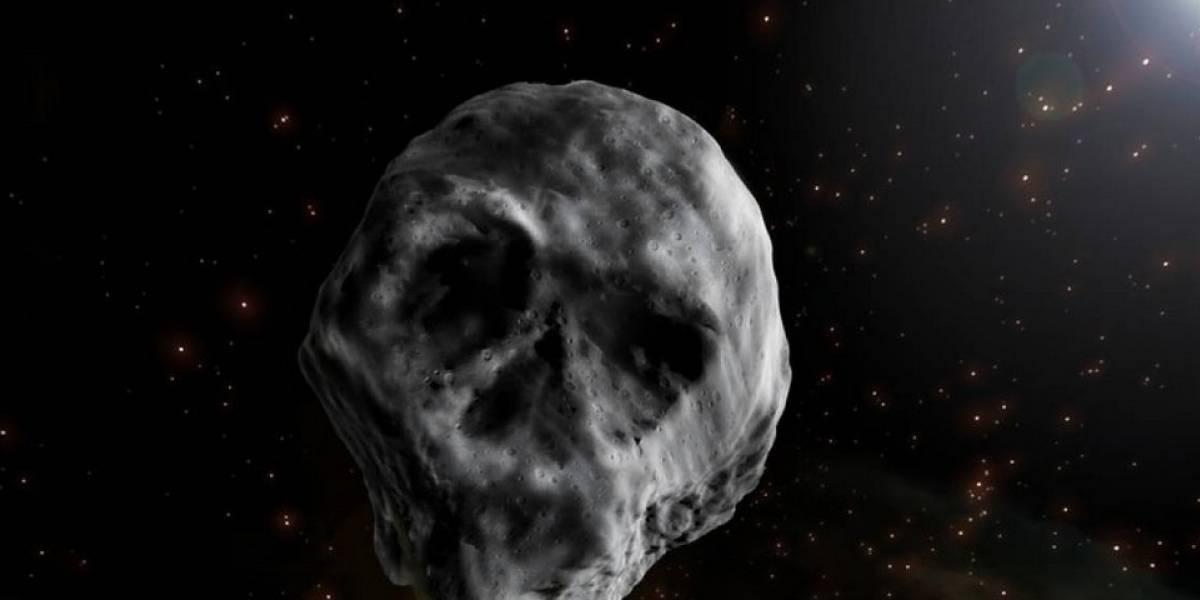 """""""Cometa de la muerte"""": espeluznante asteroide con forma de calavera vuelve a """"amenazar"""" a la Tierra en Halloween"""