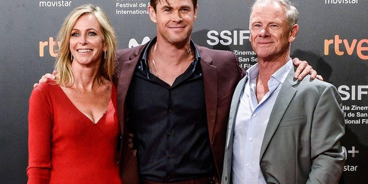 ¡Conoce a tus suegros! Estos son los padres de Chris Hemsworth