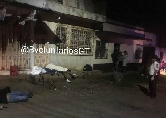 Ataque armado Villa Nueva