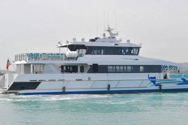 ruta corta de Ceiba a Vieques y Culebra - lancha Schoodic Explorer