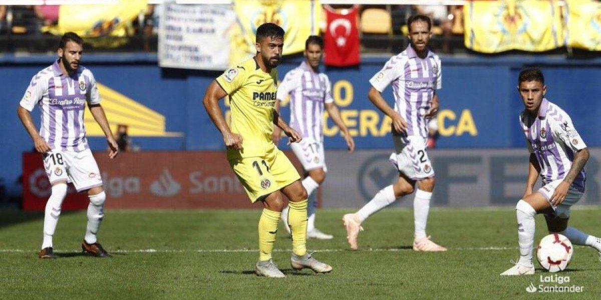 Layún entra de cambio en la derrota del Villarreal