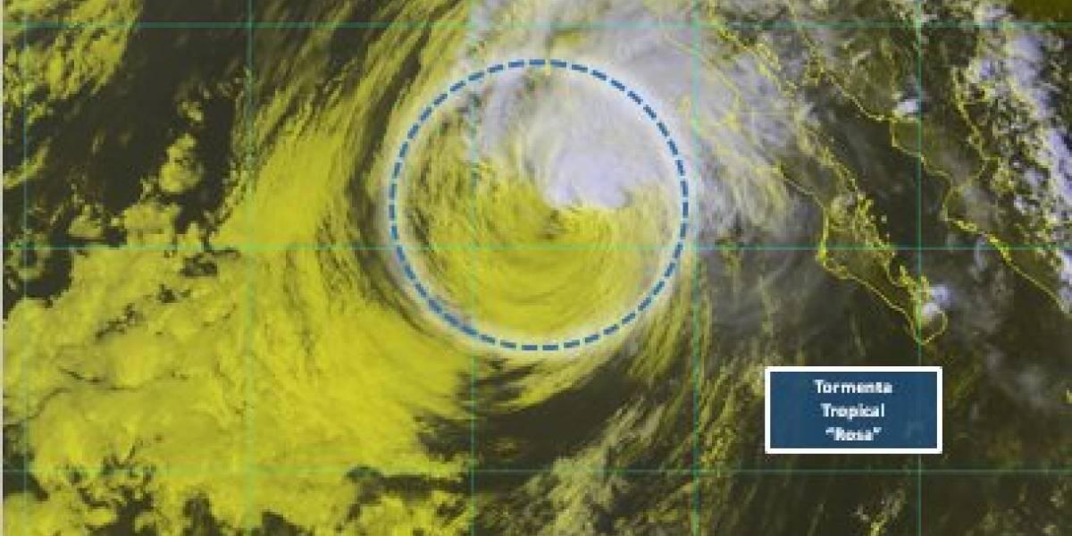 'Rosa' se degrada a Tormenta Tropical antes de tocar tierra