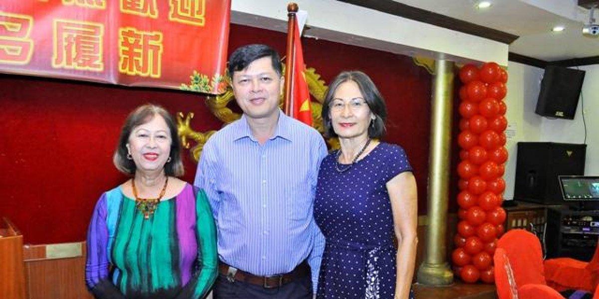 #TeVimosEn: Centro Colonia China ofrece cena a Embajador de la República Popular China en RD