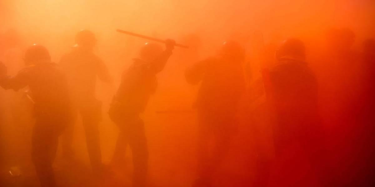 Protestas causan caos en Barcelona