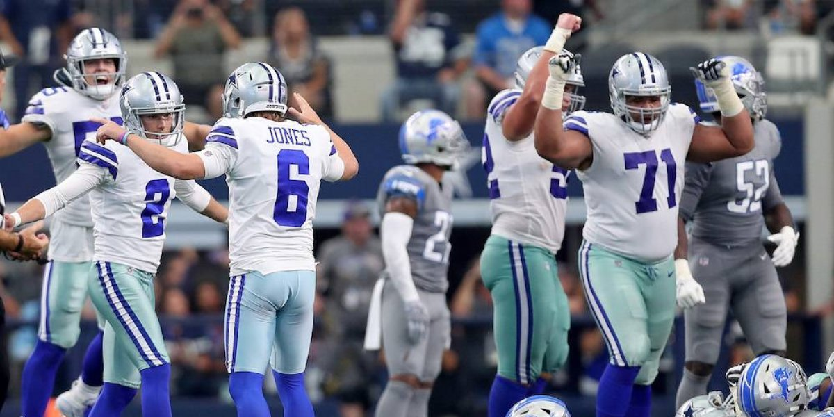 Cowboys derrota a Lions con agónico gol de campo