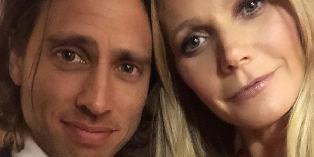 Gwyneth Paltrow se casó con el guionista Brad Falchuk