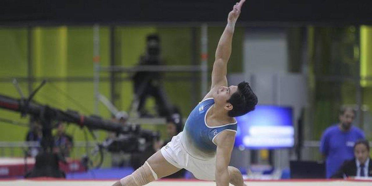 En Francia, el gimnasta Jorge Vega vuelve al podio de la Copa del Mundo