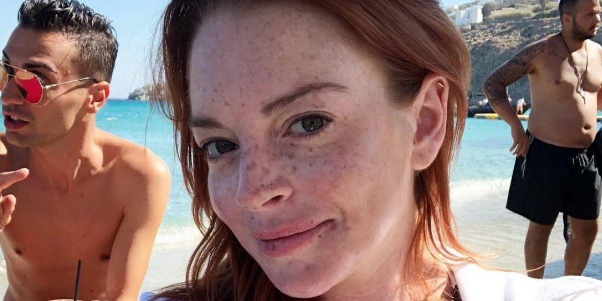 Lindsay Lohan intenta 'rescatar' a niños refugiados y la golpean