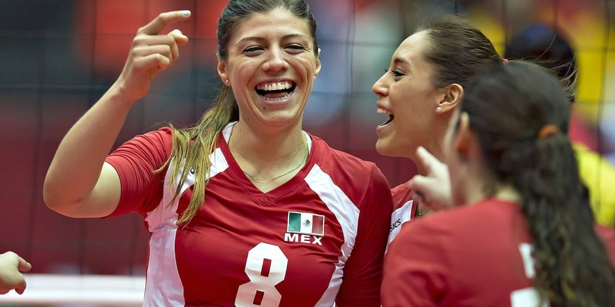 México retoma el camino y vence a Argentina en Mundial de voleibol