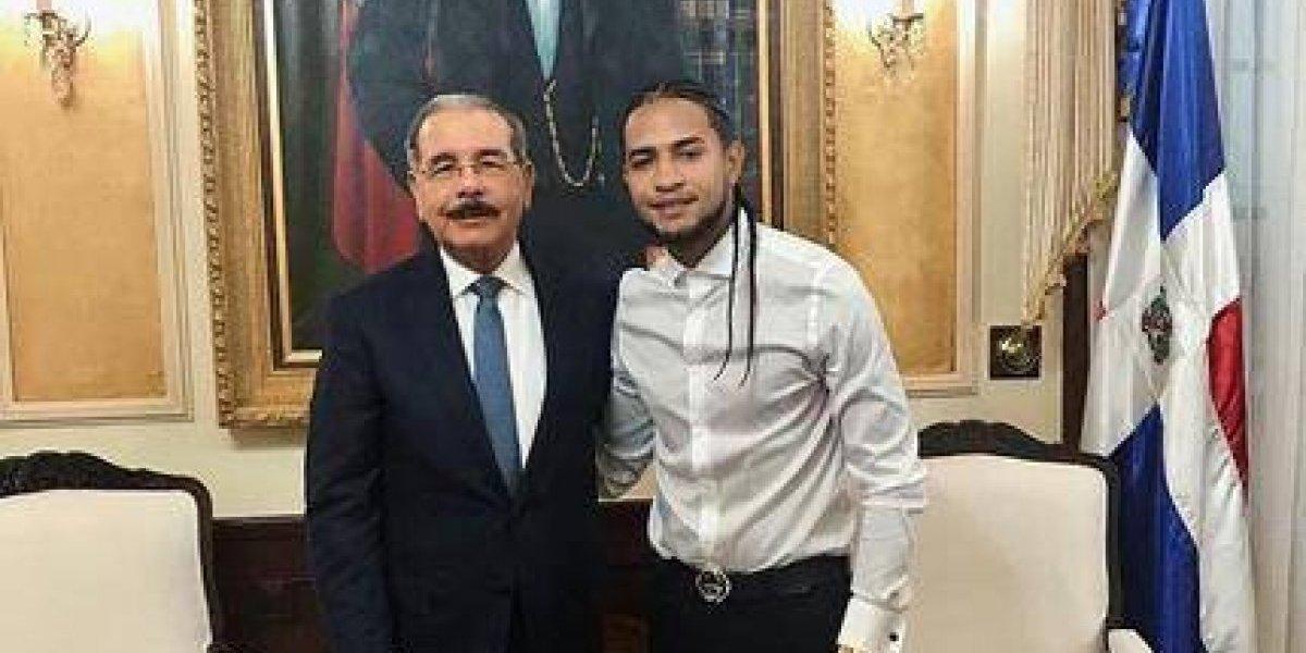 Mozart La Para se reunió con el presidente Danilo Medina