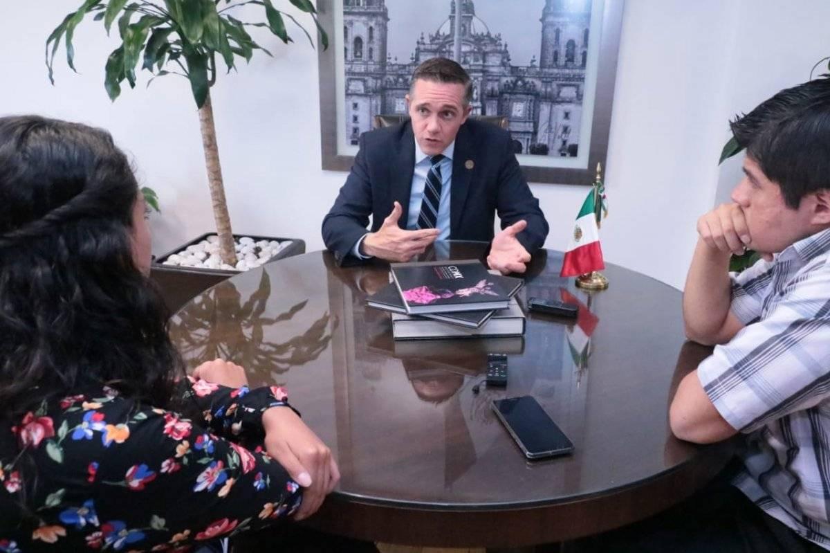 El alcalde tomará protesta en el Congreso de la CDMX Cortesía.