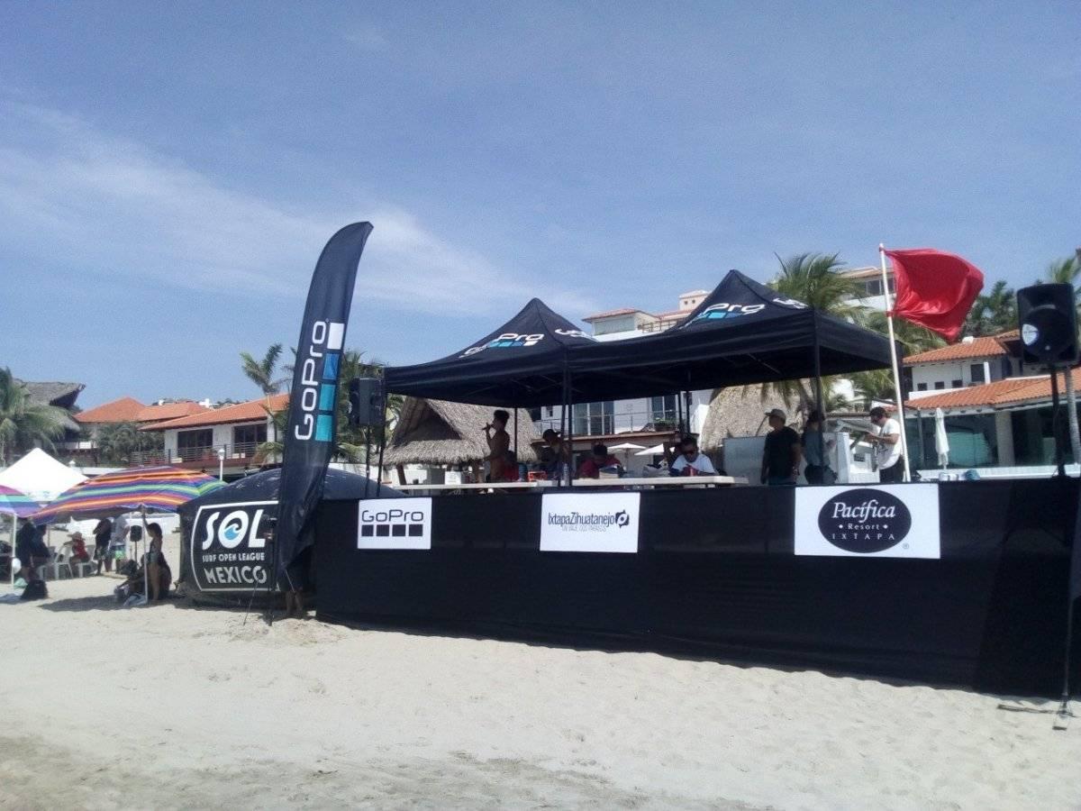 Surf Open League Ixtapa 2018 César Becerra