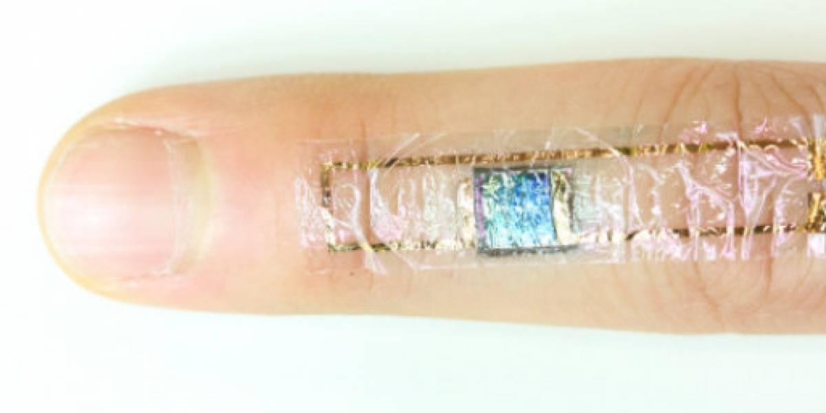 Científicos crearon un sensor de ritmo cardíaco que se adhiere a tu piel
