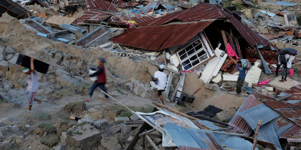 Terremoto de magnitude 6,8 atinge leste da Indonésia