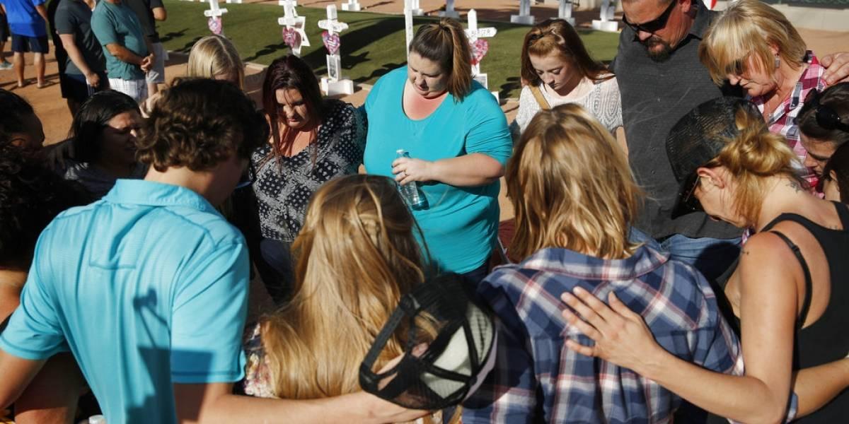 A un año de la masacre, recuerdan a las víctimas de Las Vegas
