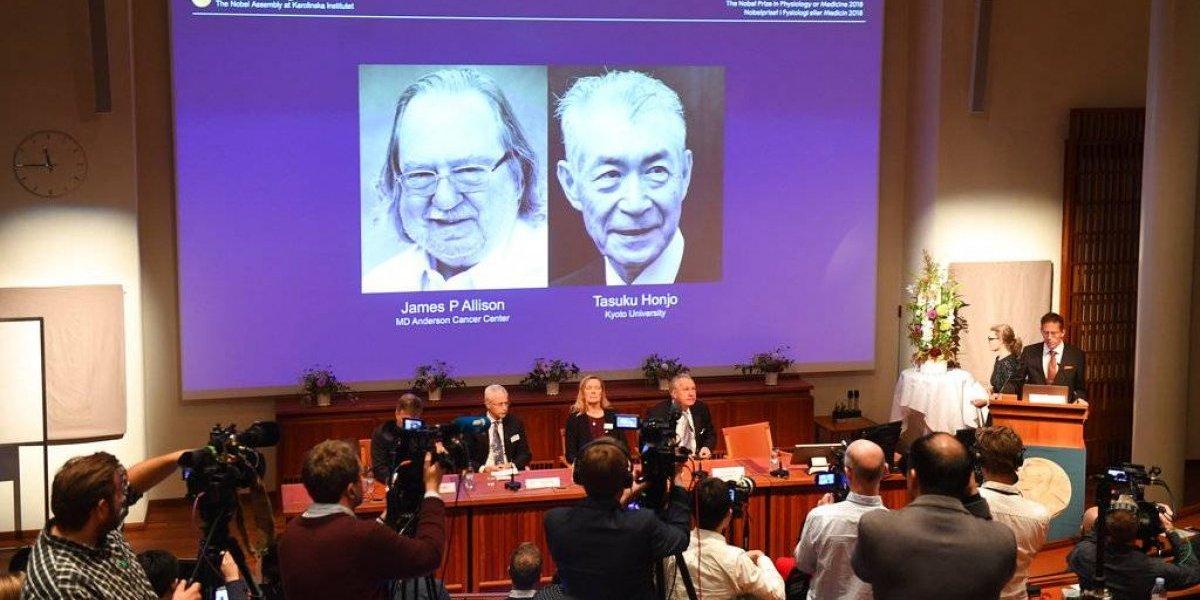 Tasuku Honjo y James P. Allison ganan Nobel de Medicina por tratamiento contra el cáncer