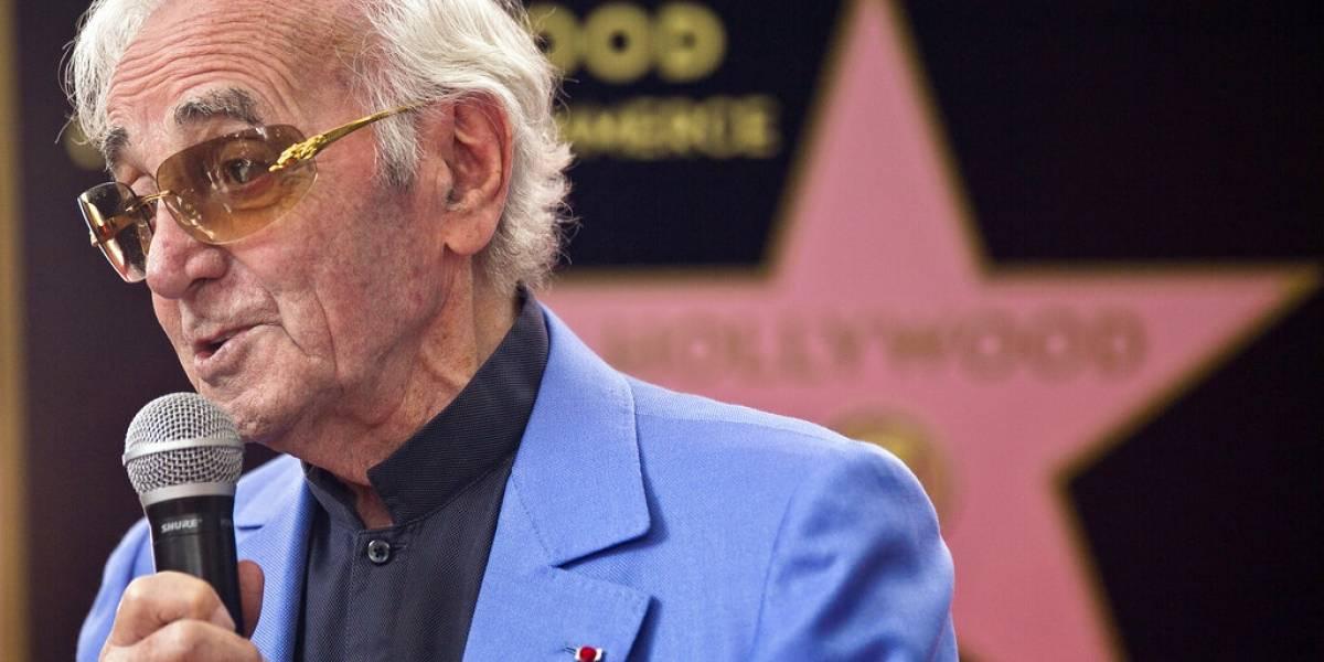 Actor y cantante francés Charles Aznavour muere a los 94