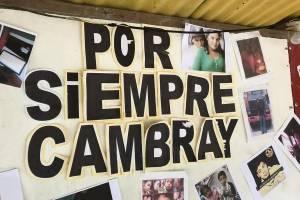 tres años de alud en El Cambray