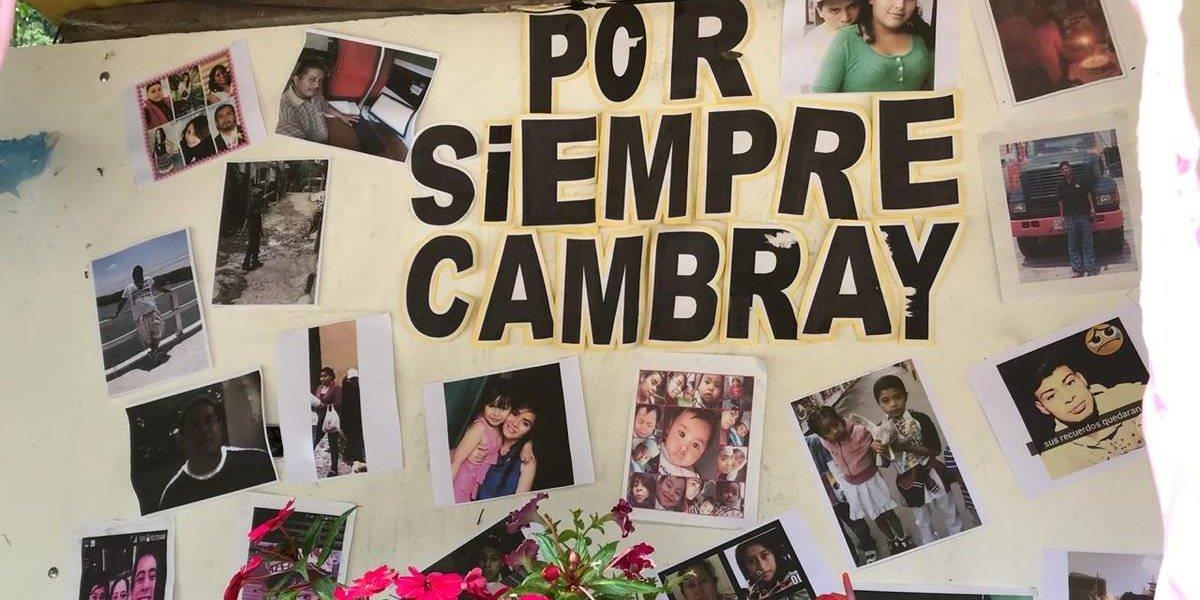 Tres años después, recuerdan a víctimas del alud en El Cambray