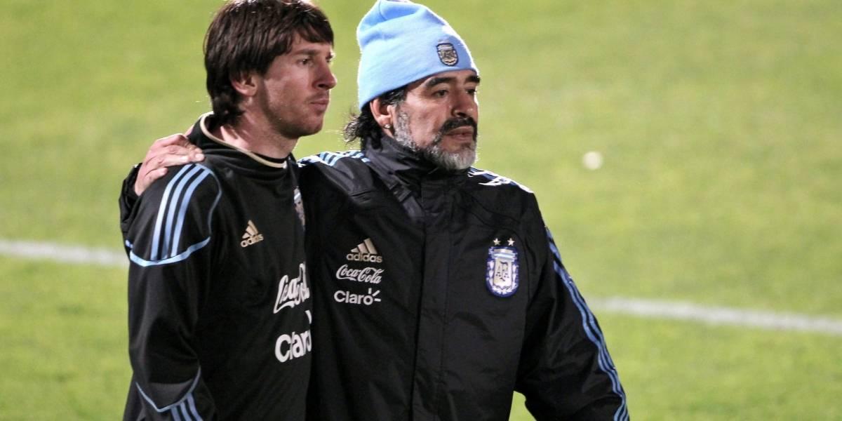 La insólita propuesta de Maradona a Messi que causa revuelo en el mundo