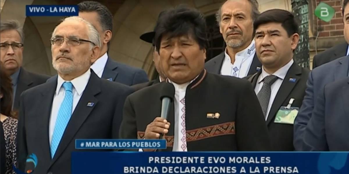 El desesperado intento de Evo Morales por tratar de mitigar la contundente derrota de Bolivia