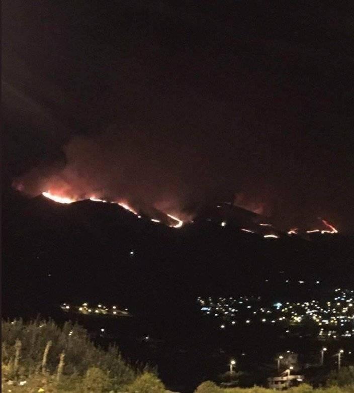Consumidas unas 650 hectáreas en incendio forestal en el cerro Atacazo Twitter