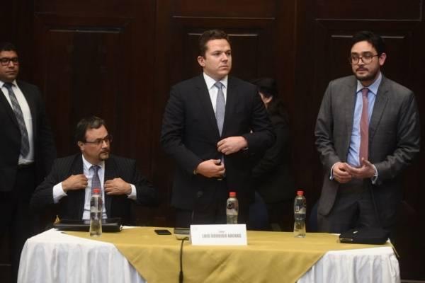 Arenas es defendido por el abogado del exalcalde Álvaro Arzú