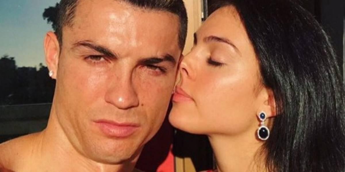 Georgina Rodríguez, novia de Cristiano Ronaldo, envió mensaje al futbolista tras ser acusado de violación