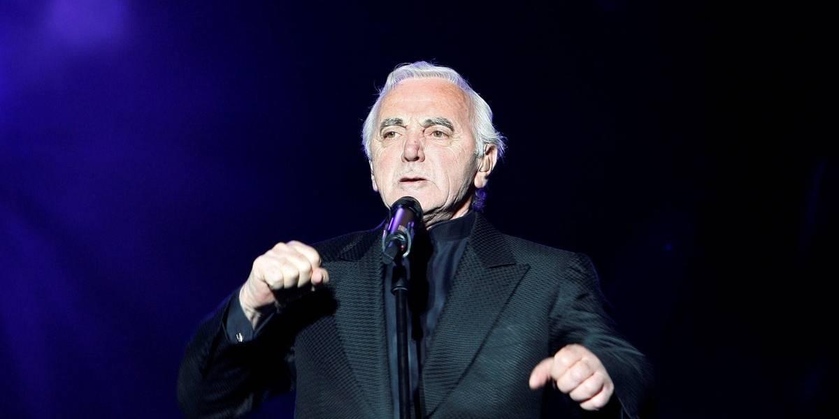 Morre, aos 94 anos, o cantor Charles Aznavour, o Frank Sinatra da França