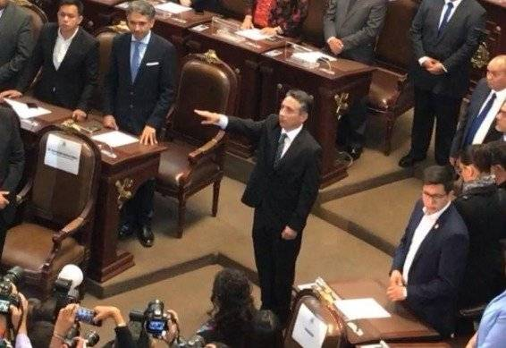 Miguel Negrete por Coyoacán Foto: @Congreso_CdMex