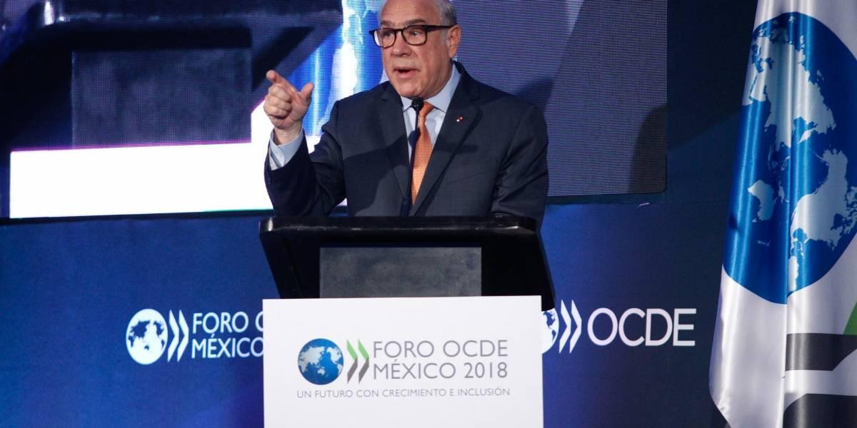 Gurría elogia el liderazgo político en el nuevo acuerdo de libre comercio