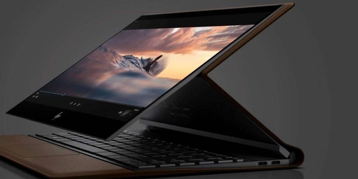 Fotos: HP lanza un extraño notebook recubierto de cuero
