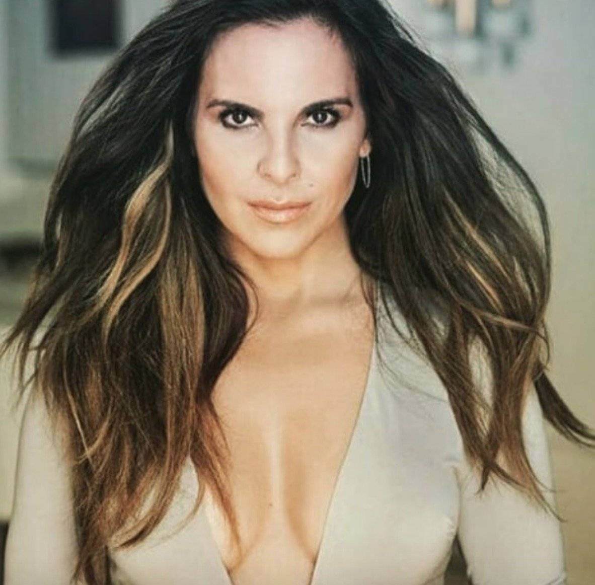 """La actriz fue invitada del programa """"El Show de Piolín"""" Instagram"""