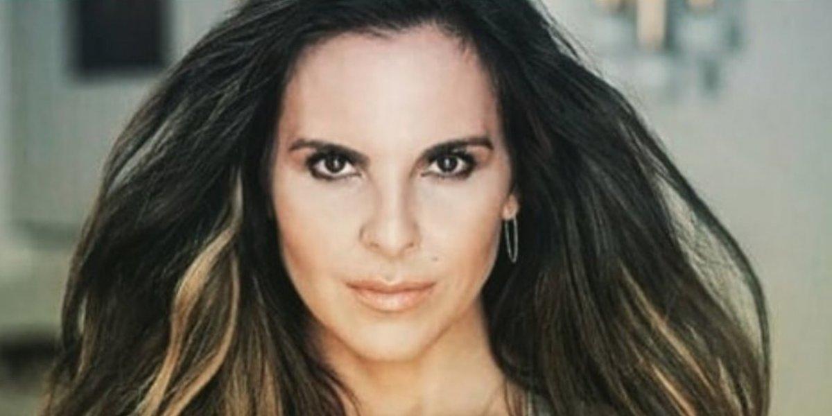 Kate del Castillo 'dio a luz' en pleno programa en vivo