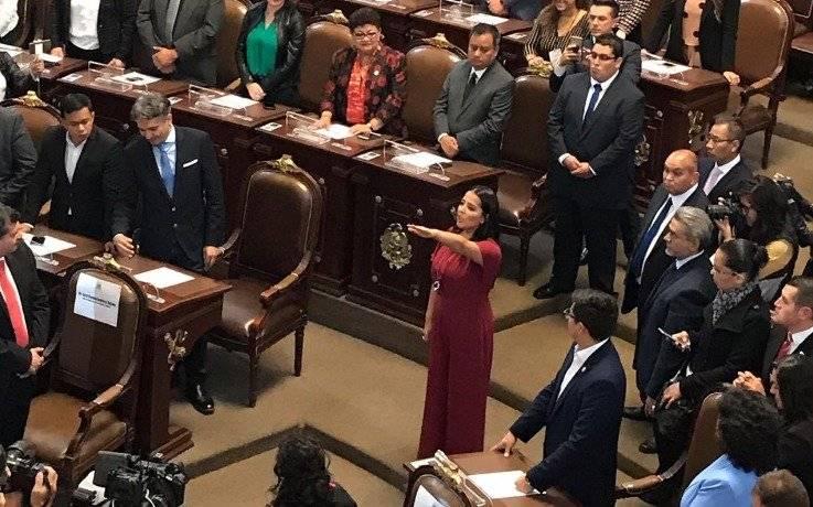 Patricia Ortiz por Magdalena Contreras Foto: @Congreso_CdMex