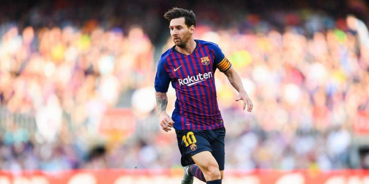 Messi, un ejemplo a seguir por los jóvenes