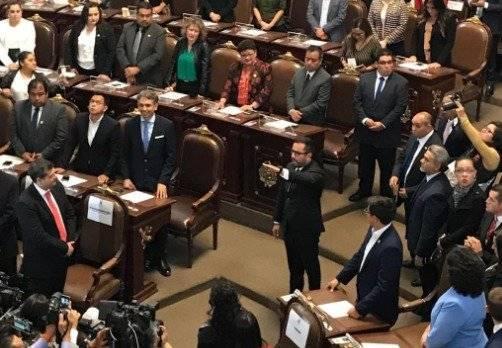 Victor Romo por Miguel Hidalgo Foto: @Congreso_CdMex