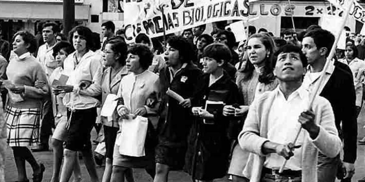 El papel de las mujeres en el movimiento estudiantil de 1968
