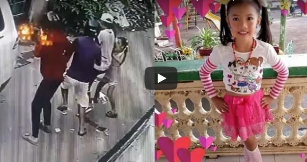 ¡Heroína! Esta niña de ocho años se enfrentó a cuatro ladrones que robaban su casa
