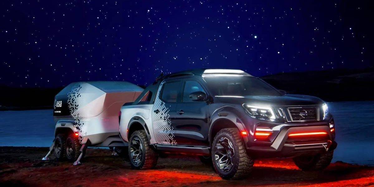 Nissan Navara Dark Sky Concept, una pick-up hecha telescopio