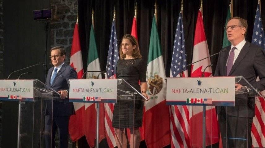 """El nuevo TLCAN es un acuerdo """"de última generación"""", señaló el secretario mexicano de Economía, Ildefonso Guajardo Getty Images"""