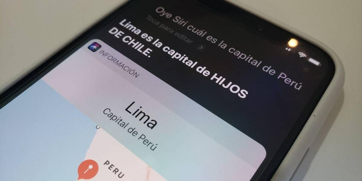 La curiosa y ofensiva respuesta de Siri frente a pregunta sobre Perú
