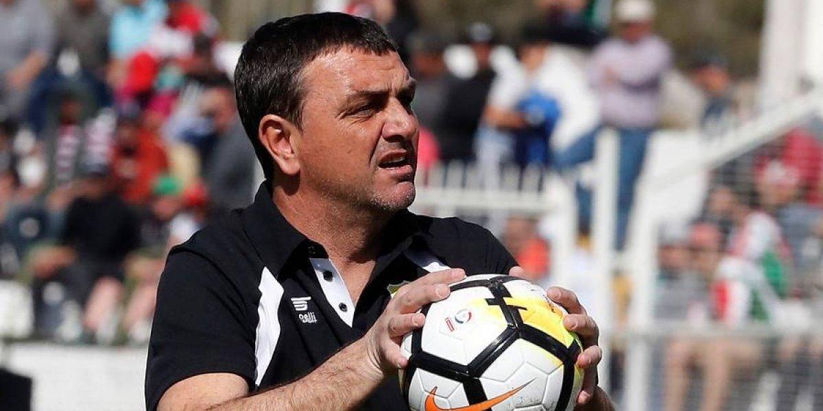 Diego Osella abandona a un San Luis que tiene pie y medio en la Primera B