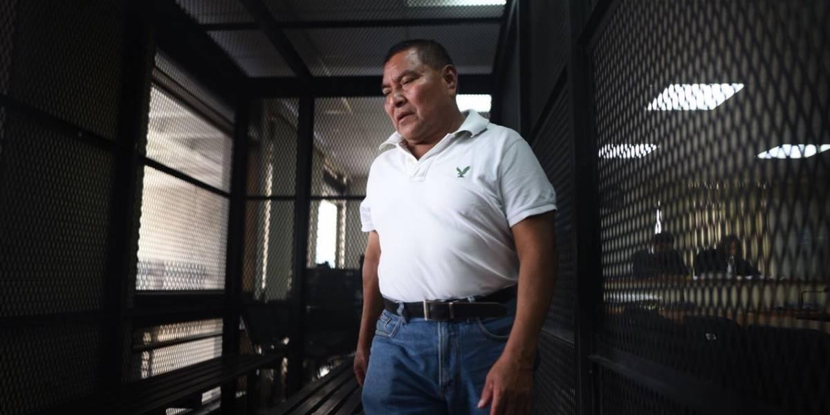 Inicia juicio contra Alfonso López Alonzo por masacre Las Dos Erres